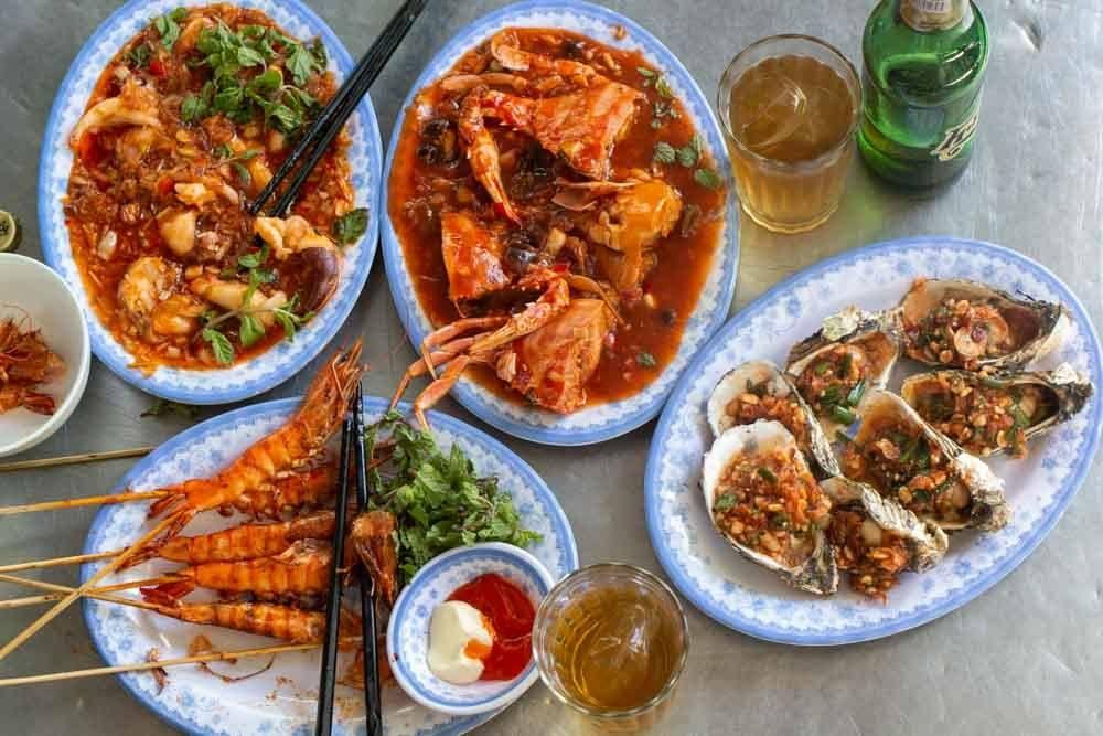 Top 10 quán hải sản ngon Hội An không thể không nhắc tới hải sản Vân Phi