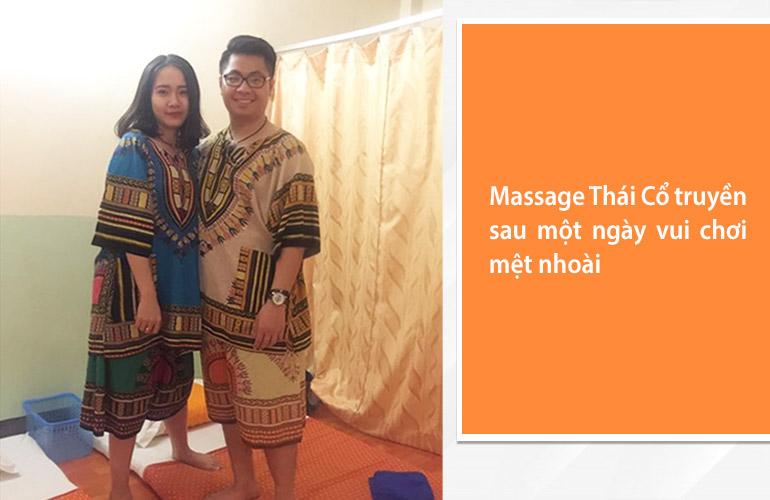Massage Thái Cổ truyền là hoạt động được yêu thích trong các chuyến đi Thái Lan
