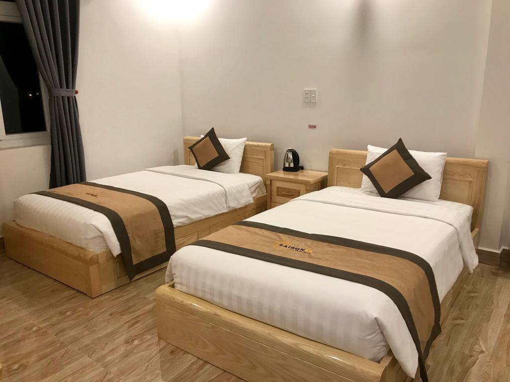 Phòng 2 giường đơn tại khách sạn Sài Gòn 68 Côn Đảo
