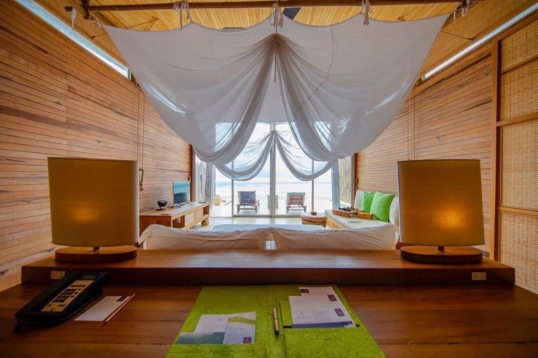 Phòng view hướng biển tại khách sạn Six Senses Côn Đảo
