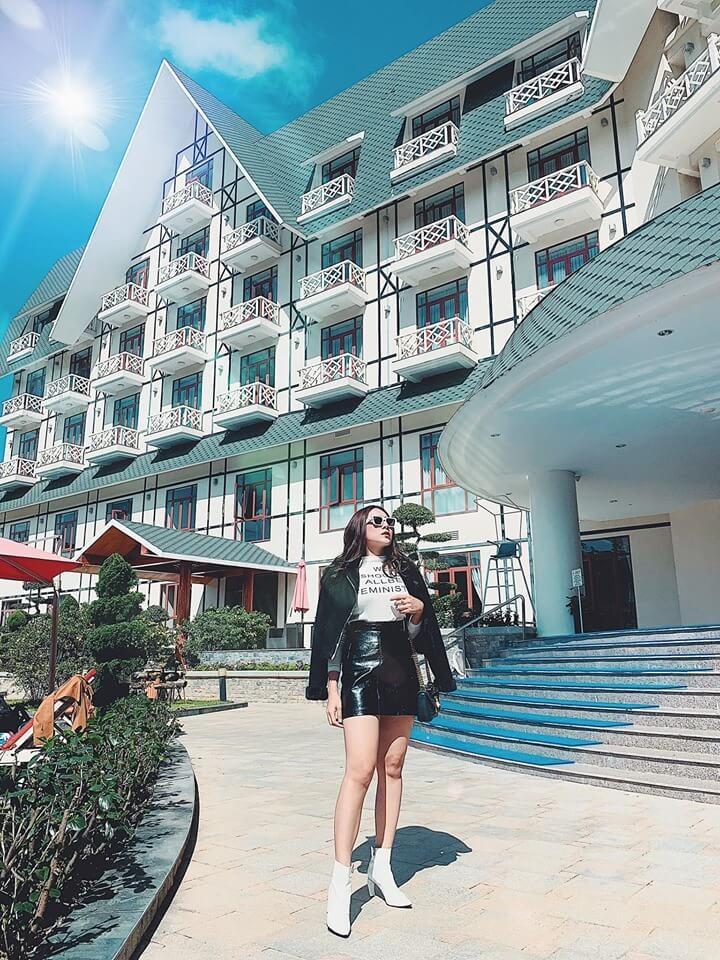 Check in cực đẹp tại khách sạn Swiss Belresort Tuyền Lâm 5*