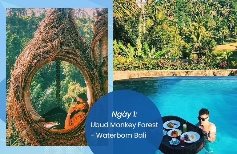 Check in tại những điểm tham quan nổi bật của Bali