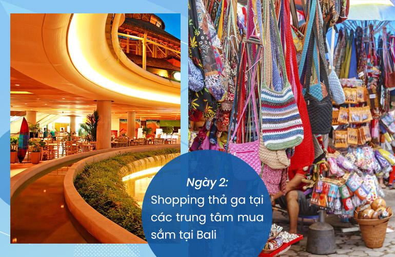 Mua sắm tại Bali