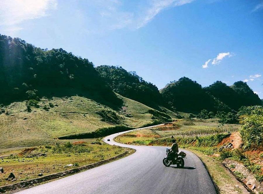 Kinh nghiệm du lịch Mộc Châu nên lựa chọn xe máy để di chuyển thuận tiện nhất