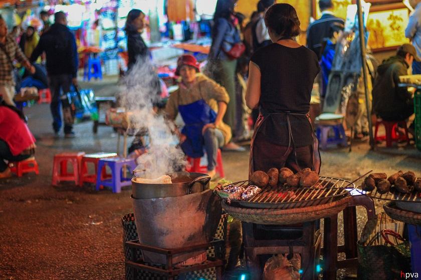 Ẩm thực chợ đêm Đà Lạt
