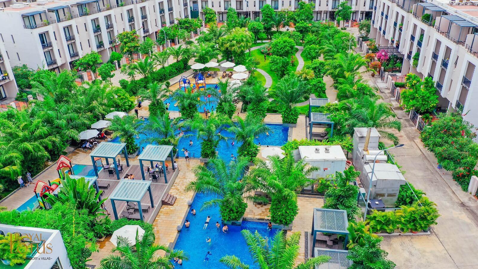 Bể bơi kết hợp khu vui chơi ngoài trời duy nhất tại Hạ Long