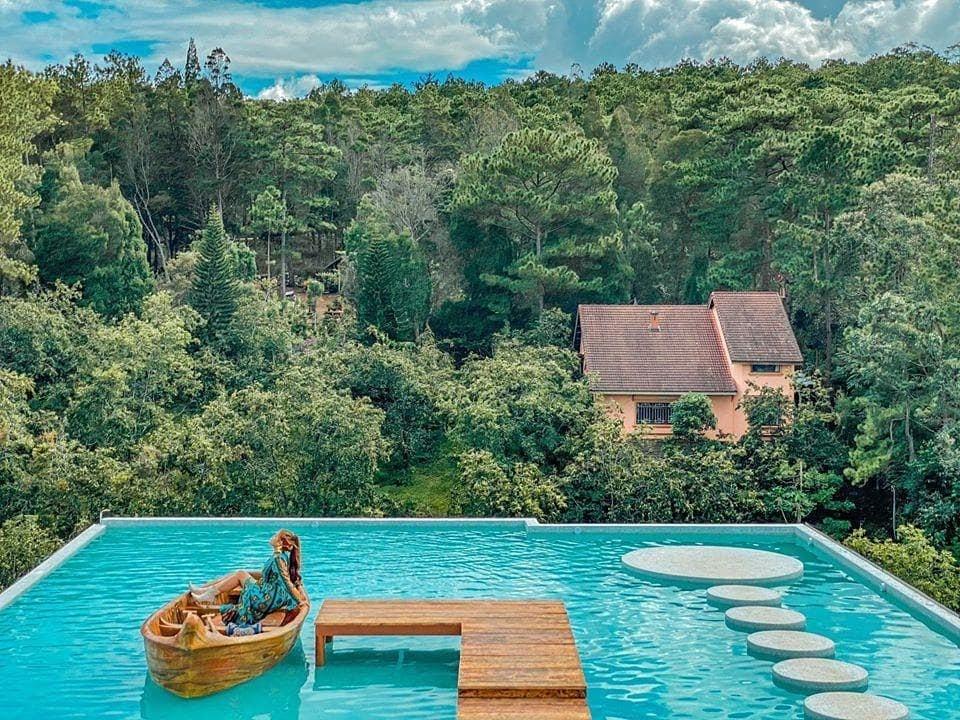 Hồ view rừng - Fresh Garden Đà Lạt