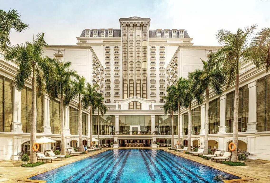 Không gian sang trọng khách sạn Indochine Palace