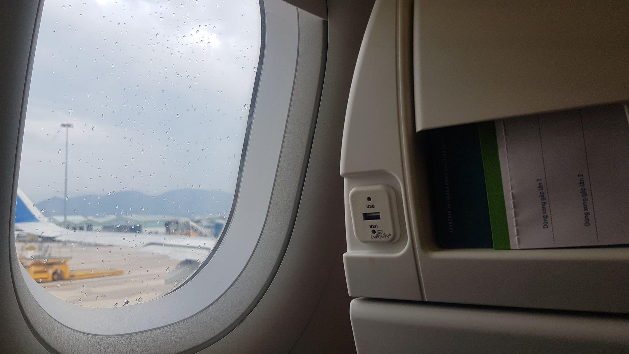 Thiết kế khá tiện nghi của máy bay Bamboo Airways