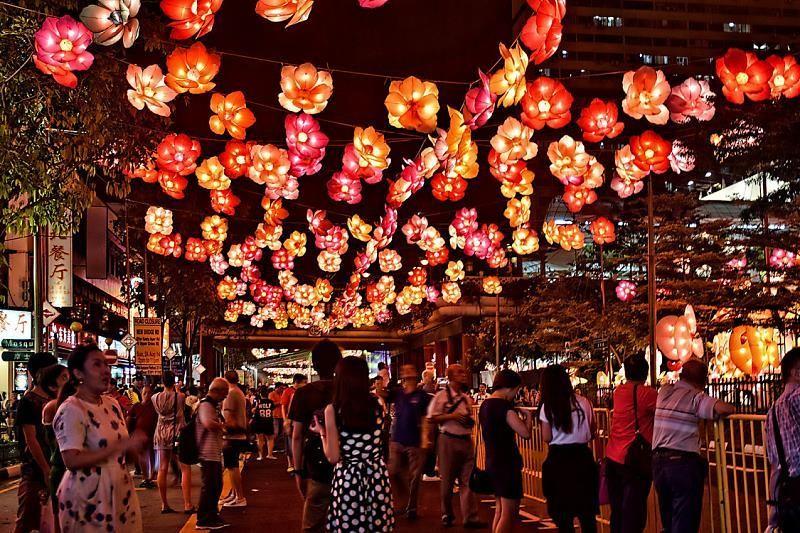 Chinatown dịp Tết trung thu