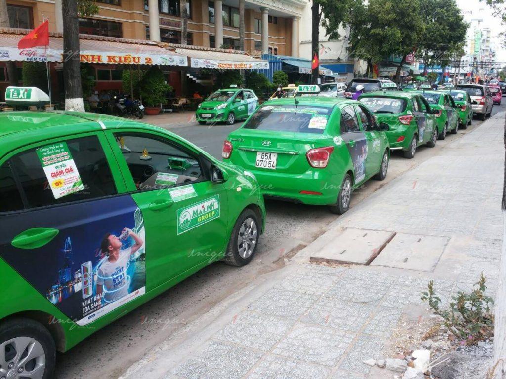 Taxi từ sân bay Cần Thơ về thành phố