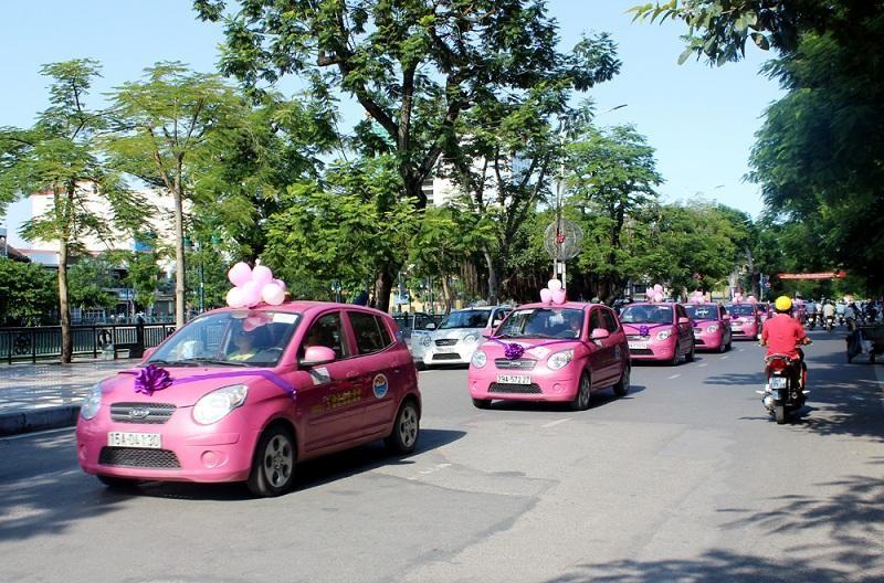 Di chuyển bằng taxi từ sân bay về trung tâm Hải Phòng