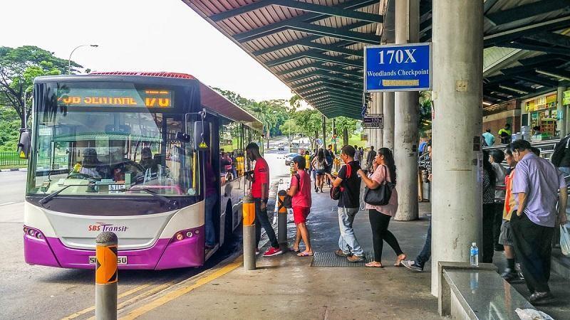 Đi xe buýt từ sân bay Changi về trung tâm
