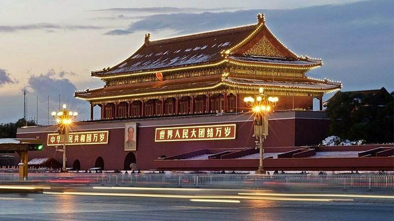Quảng trường Thiên An Môn là trung tâm văn hóa, chính trị ỏ Bắc Kinh