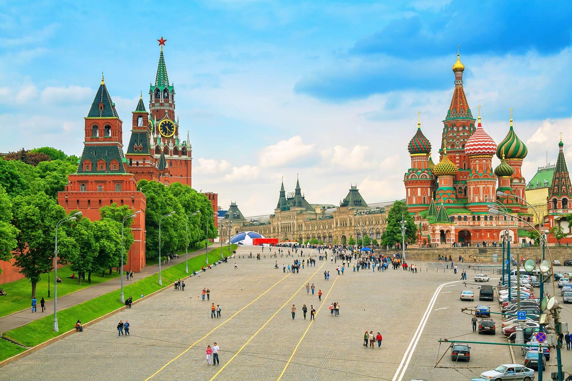 Quảng trường đỏ - Trái tim của Moscow