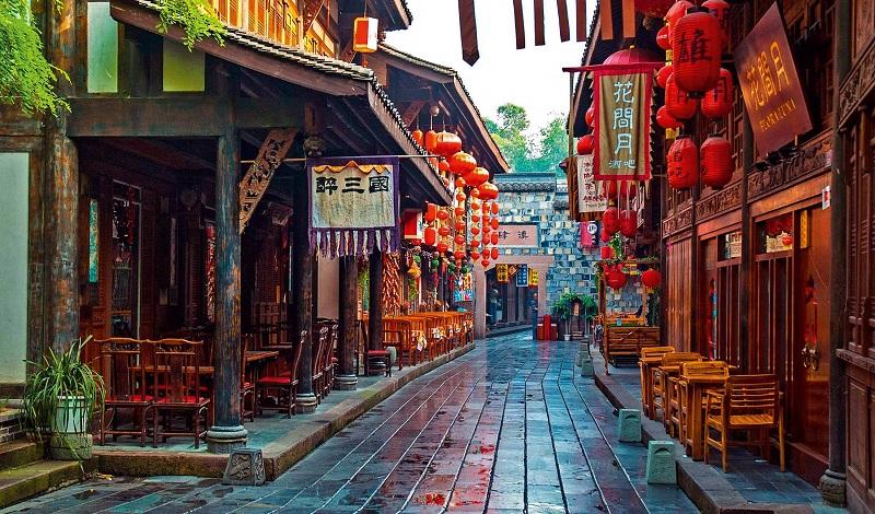 Phố Cổ Jinli Chengdu