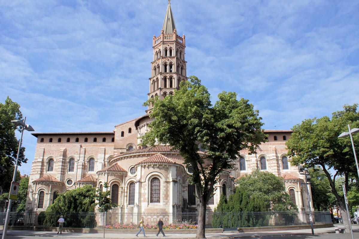 Nhà thờ Basilique Saint-Sernin