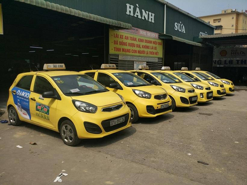 Taxi từ sân bay Vinh về trung tâm thành phố Vinh