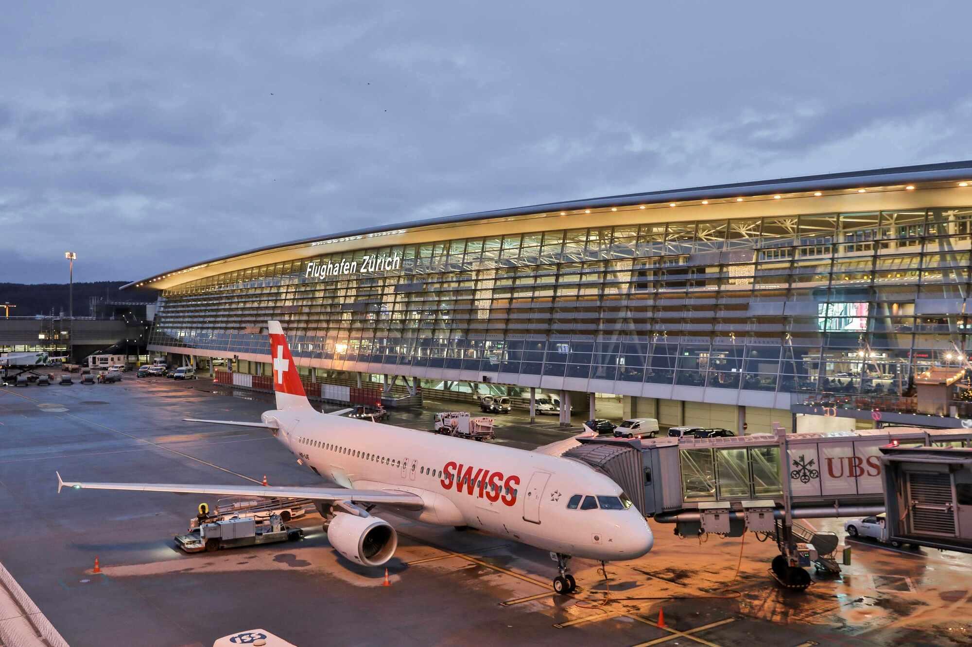 Sân bay Zurich