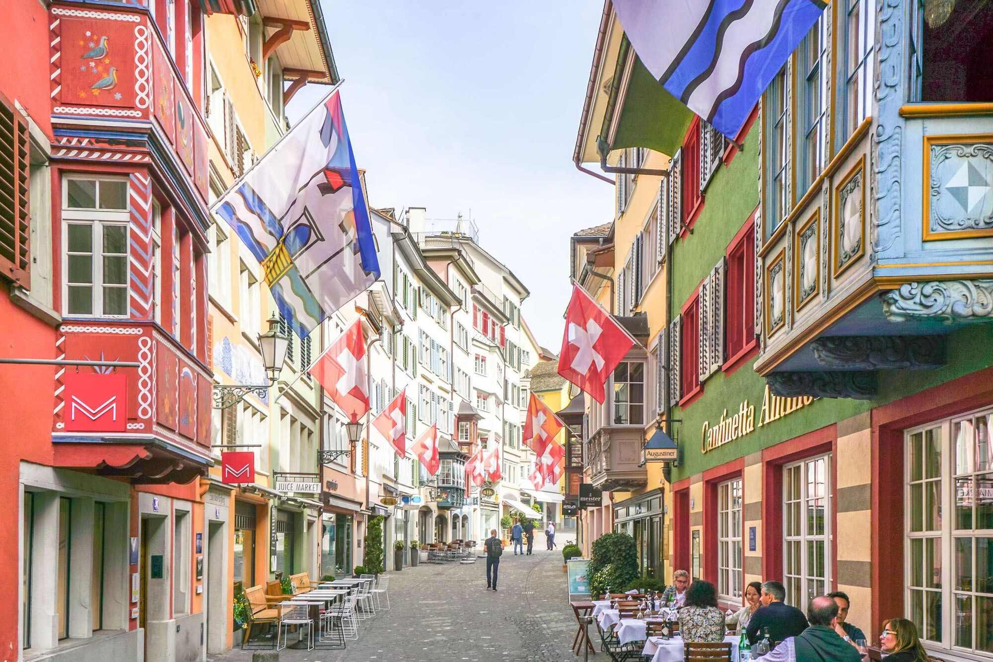 Khu phố cổ Zurich