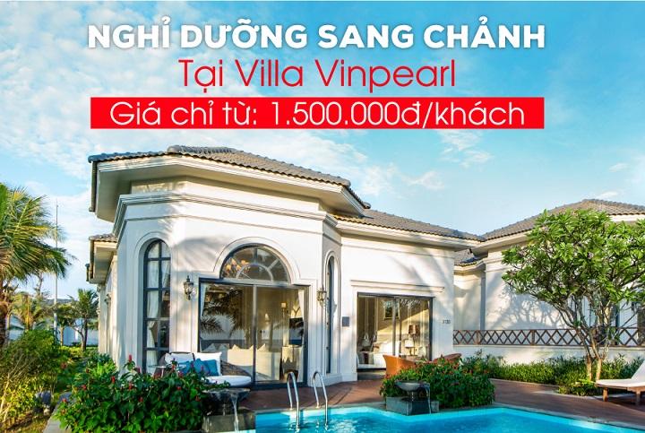 Chương trình khuyến mại Villa của Vinpearl