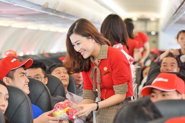 Tiếp viên hàng không hãng Vietjet