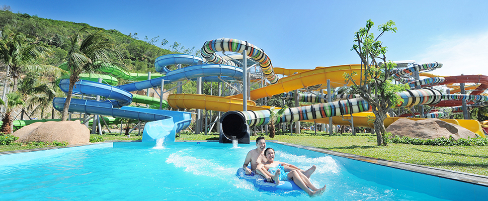 Công viên nước của Vinpearl Land Nha Trang