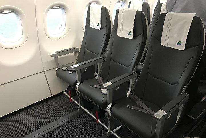 Khoang ghế hạng phổ thông của Bamboo Airways
