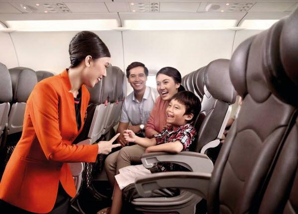 Khoang ghế hạng thương gia của Jetstar Pacific