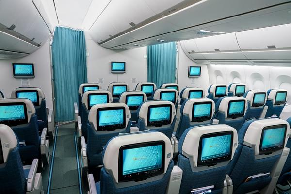 Khoang ghế hạng phổ thông linh hoạt của Vietnam Airlines