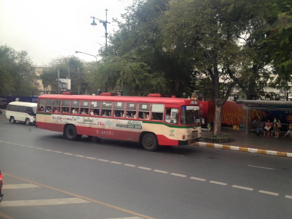 Xe bus ở Thái Lan