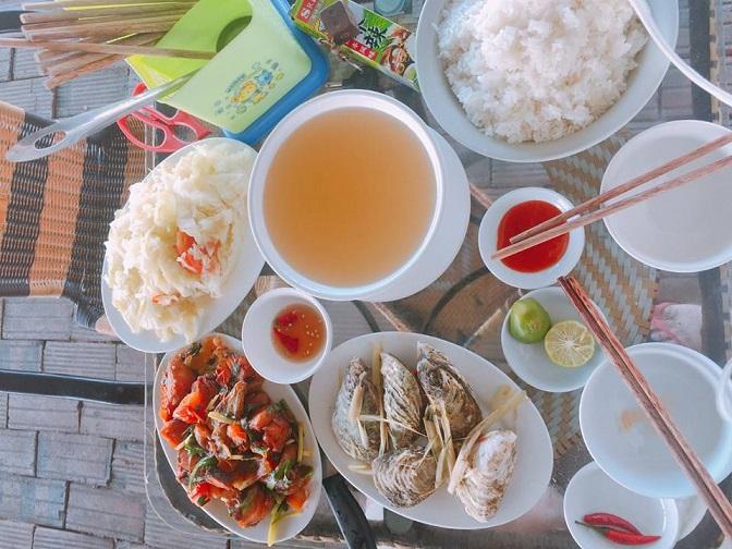 Bữa ăn trên đảo