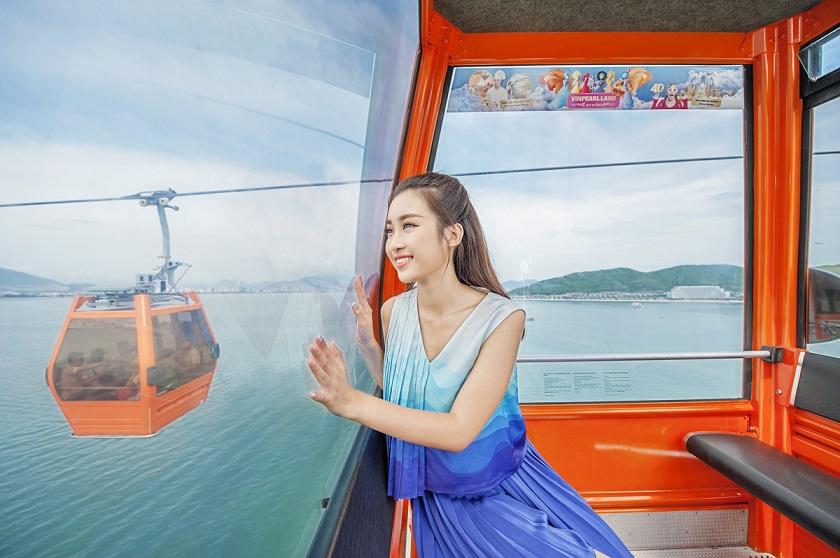 Trải nghiệm tuyến cáp treo Vinpearl Land Nha Trang