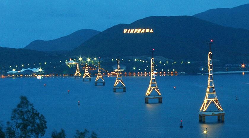 hệ thống cáp treo Vinpearl Land Nha Trang
