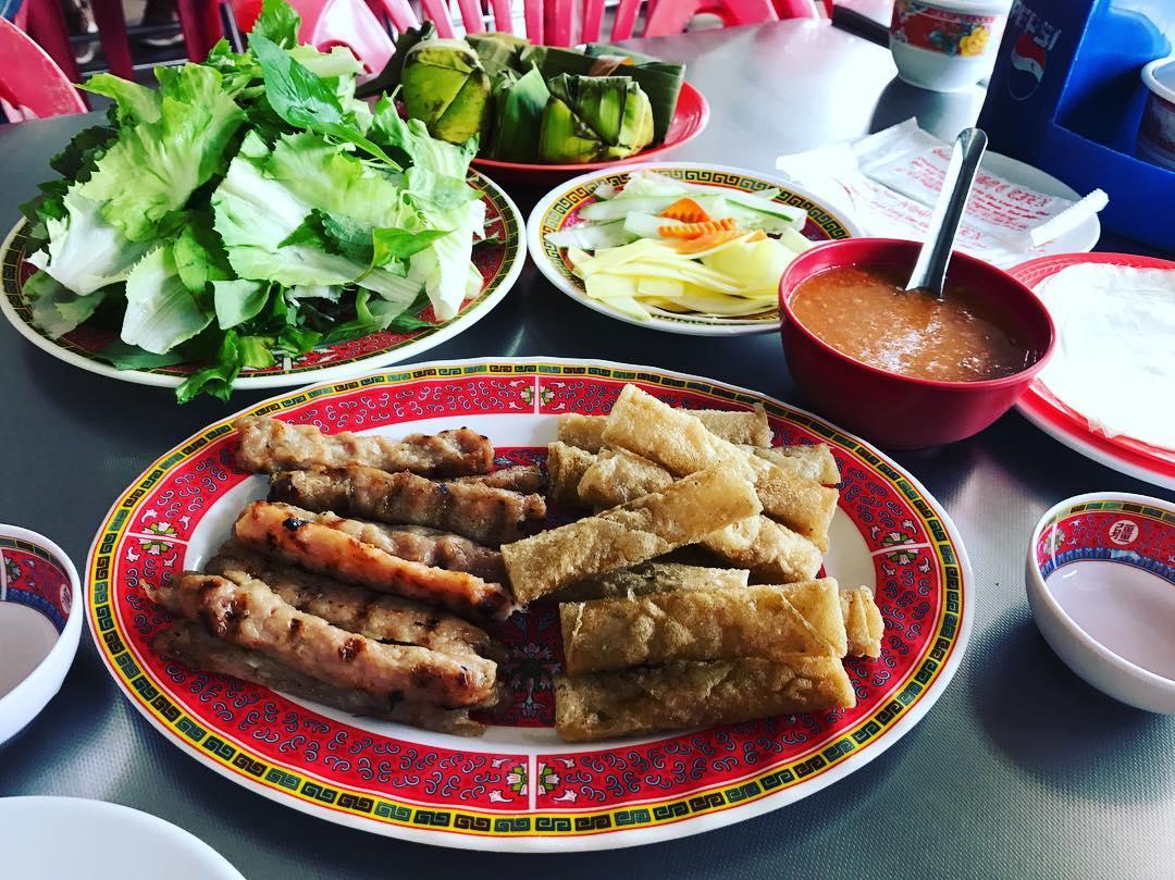Quán nem nướng Ngọc Tiên ở Nha Trang