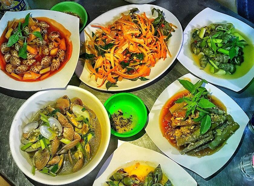 Ốc bé Quỳnh - Quán ốc ngon ở Đà Nẵng được yêu thích nhất