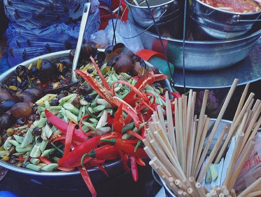 Ốc hút chợ Bắc Mỹ An Đà Nẵng