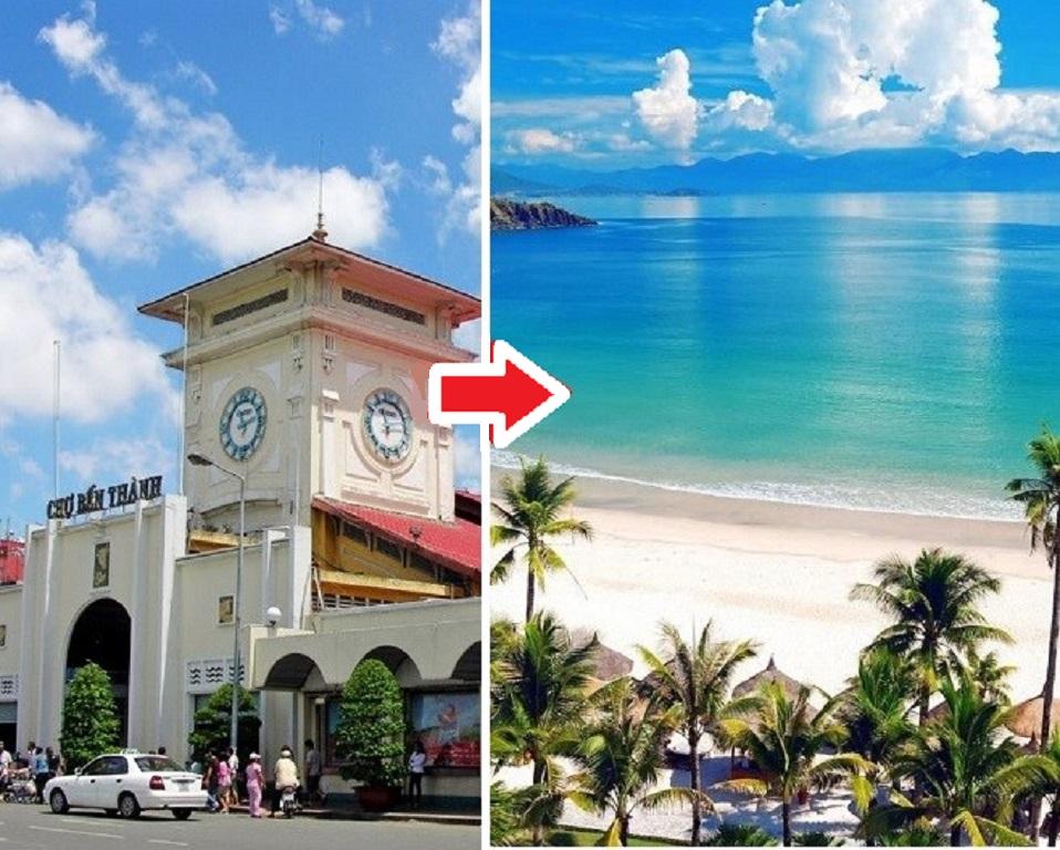 Thời gian bay từ Hồ Chí Minh đến Nha Trang mất bao lâu?