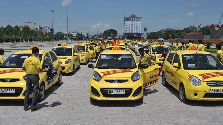 Taxi tại sân bay Thọ Xuân