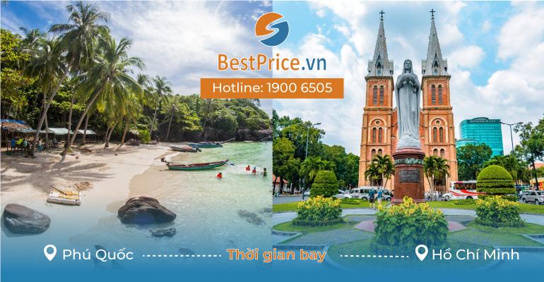Thời gian bay từ Phú Quốc đến Hồ Chí Minh mất bao lâu?