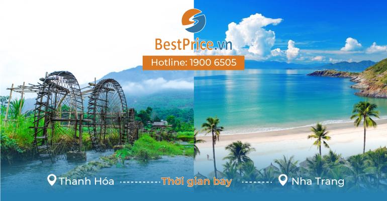 Thời gian bay từ Thanh Hóa đi Nha Trang mất bao lâu?