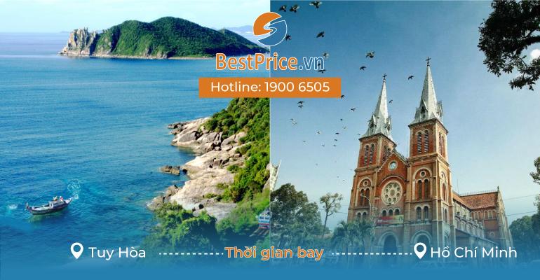 Thời gian bay từ Tuy Hòa đến Sài Gòn mất bao lâu