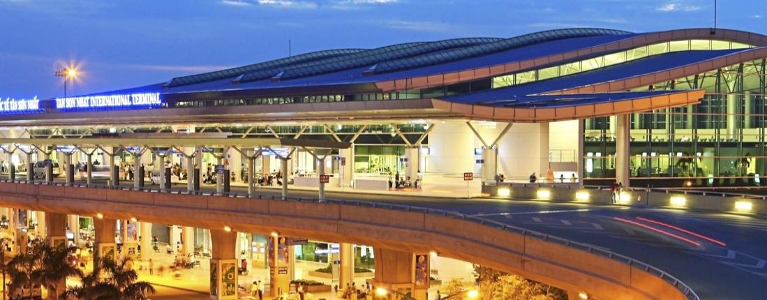 Sân bay Tân Sơn Nhất ở Hồ Chí Minh