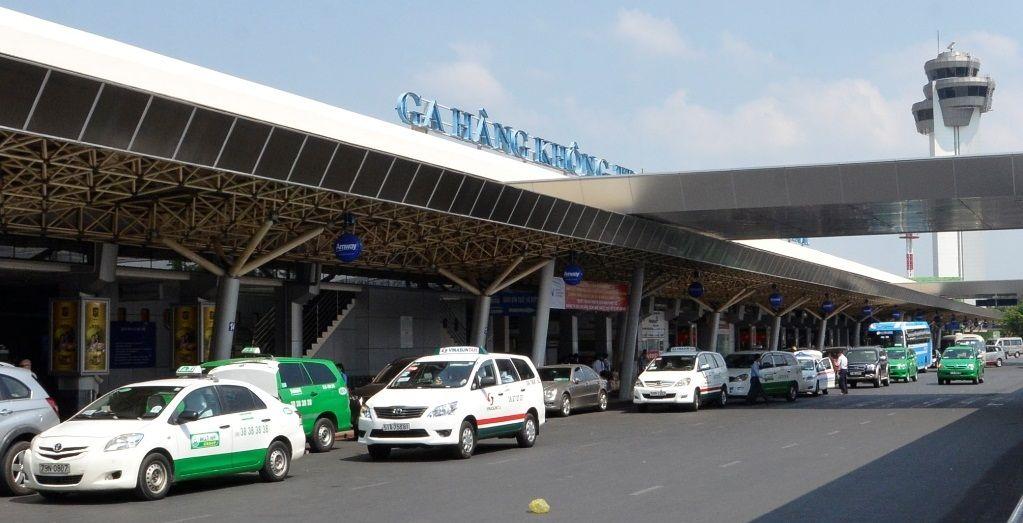 Xe Taxi tại sân bay Tân Sơn Nhất