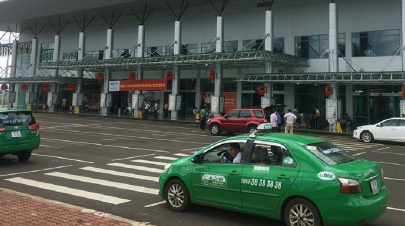 Taxi sân bay Pleiku