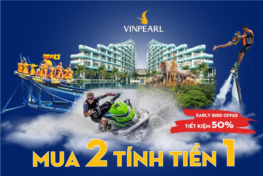 Vinpearl - Mua 2 tính tiền 1