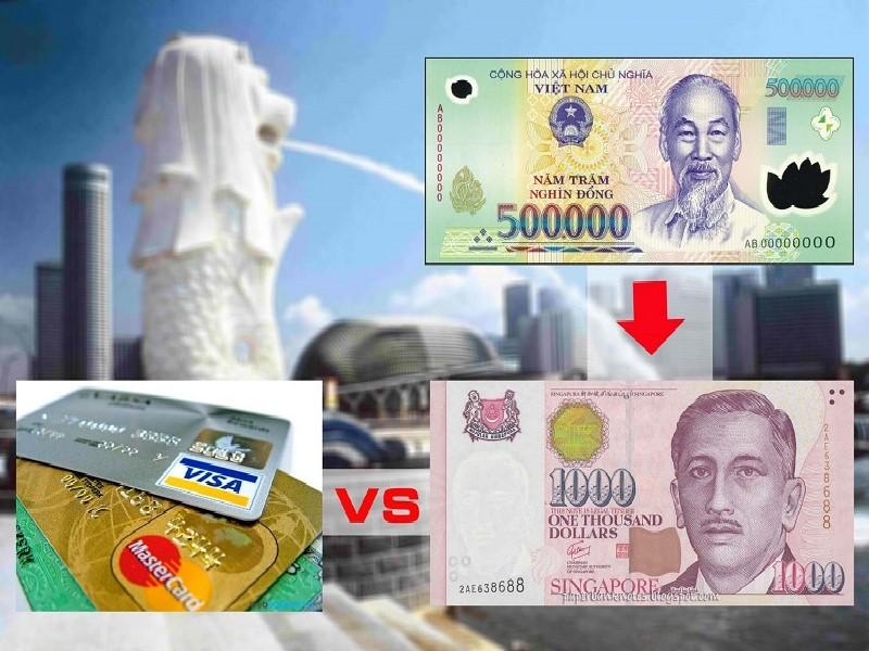 Đổi tiền Singpapore