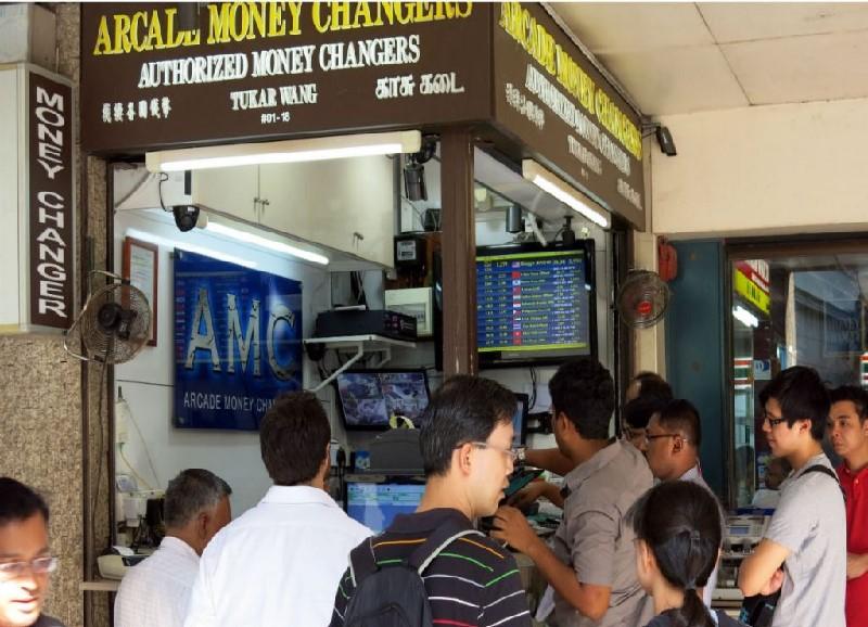 Địa chỉ đổi tiền ở Singapore