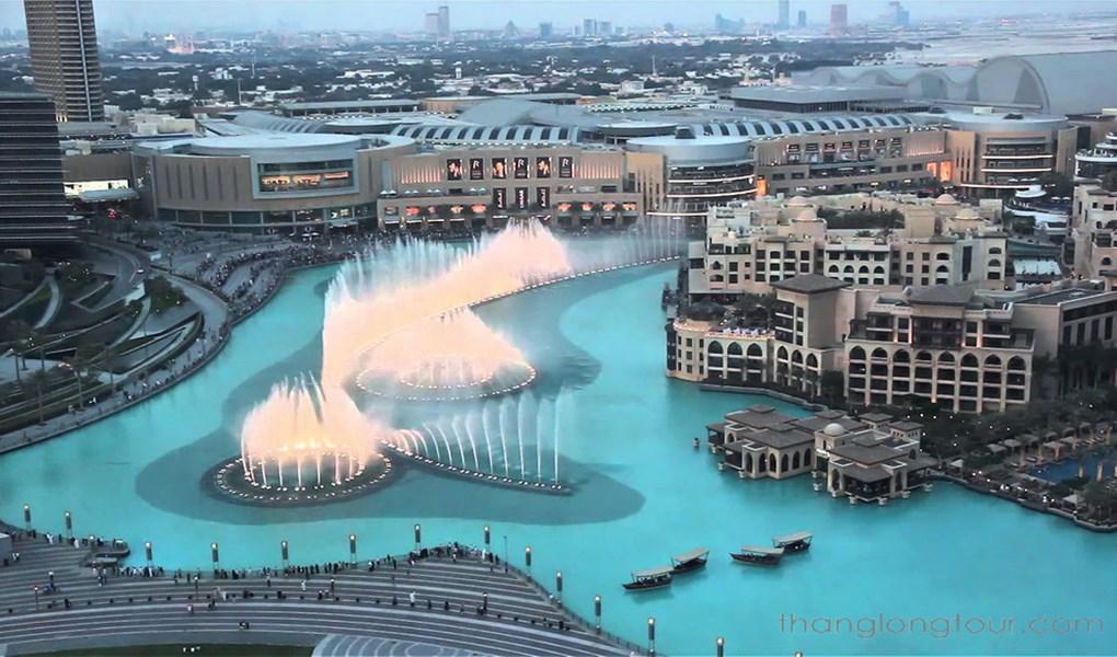 Đài phun nước ở Dubai