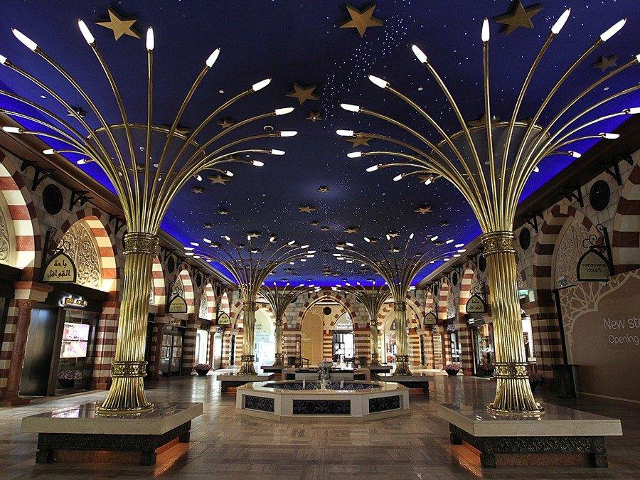 Khu trung tâm thương mại ở Dubai